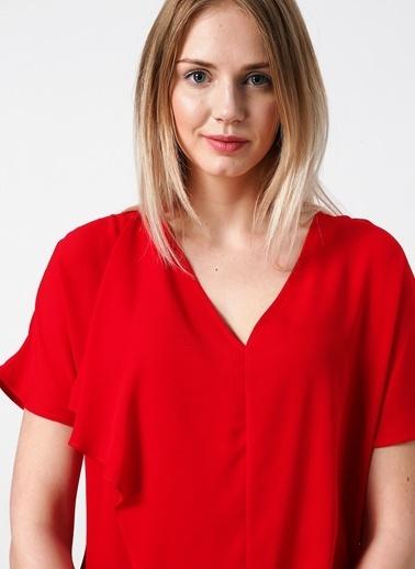 House Of Camellia Bluz Kırmızı